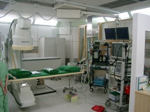 Χώρος ERCP με ακτινολογικό μηχάνημα